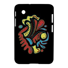 Colorful Abstract Spot Samsung Galaxy Tab 2 (7 ) P3100 Hardshell Case  by Valentinaart