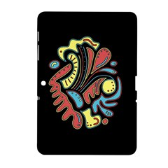 Colorful Abstract Spot Samsung Galaxy Tab 2 (10 1 ) P5100 Hardshell Case  by Valentinaart