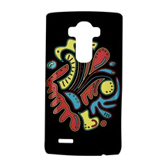 Colorful abstract spot LG G4 Hardshell Case by Valentinaart