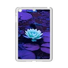 Lotus Flower Magical Colors Purple Blue Turquoise Ipad Mini 2 Enamel Coated Cases by yoursparklingshop