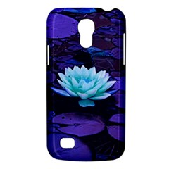 Lotus Flower Magical Colors Purple Blue Turquoise Galaxy S4 Mini by yoursparklingshop