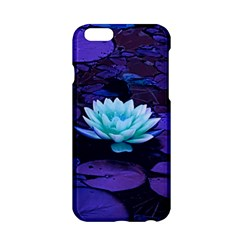Lotus Flower Magical Colors Purple Blue Turquoise Apple Iphone 6/6s Hardshell Case by yoursparklingshop