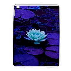 Lotus Flower Magical Colors Purple Blue Turquoise Ipad Air 2 Hardshell Cases