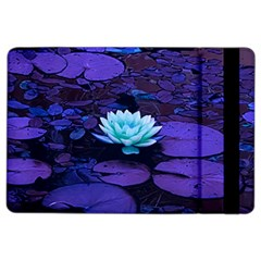Lotus Flower Magical Colors Purple Blue Turquoise Ipad Air 2 Flip by yoursparklingshop