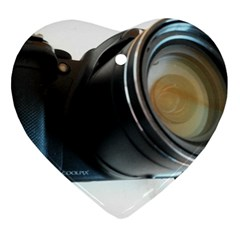 My Camera Heart Ornament (2 Sides) by picsaspassion