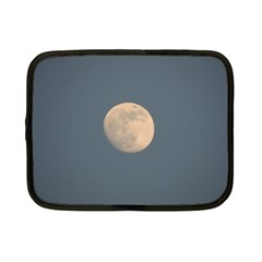 The Moon And Blue Sky Netbook Case (small)  by picsaspassion