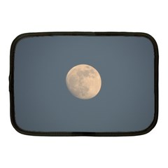 The Moon And Blue Sky Netbook Case (medium)  by picsaspassion