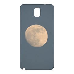 The Moon And Blue Sky Samsung Galaxy Note 3 N9005 Hardshell Back Case by picsaspassion