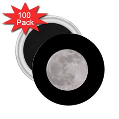 Full Moon at night 2.25  Magnets (100 pack)  by picsaspassion