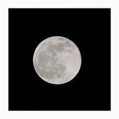Full Moon At Night Medium Glasses Cloth (2 Side) by picsaspassion