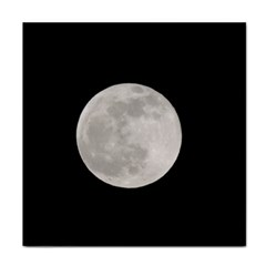 Full Moon At Night Face Towel by picsaspassion
