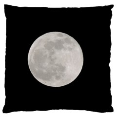 Full Moon At Night Large Cushion Case (two Sides) by picsaspassion