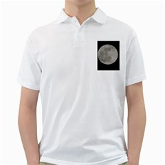 Close To The Full Moon Golf Shirts by picsaspassion