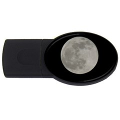 Close To The Full Moon Usb Flash Drive Oval (2 Gb)  by picsaspassion