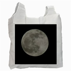 Close To The Full Moon Recycle Bag (one Side) by picsaspassion