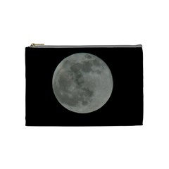 Close To The Full Moon Cosmetic Bag (medium)  by picsaspassion
