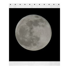 Close To The Full Moon Shower Curtain 60  X 72  (medium)  by picsaspassion