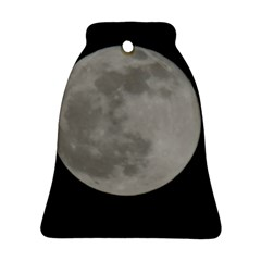 Close To The Full Moon Bell Ornament (2 Sides) by picsaspassion