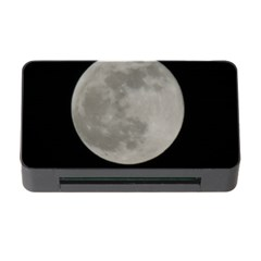 Close To The Full Moon Memory Card Reader With Cf by picsaspassion