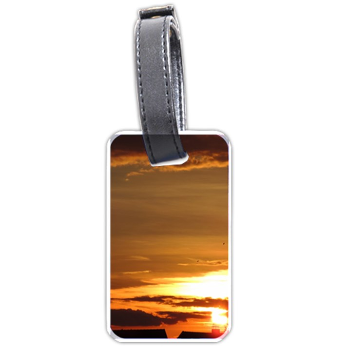 Summer Sunset Luggage Tags (One Side)
