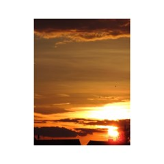 Summer Sunset Shower Curtain 48  X 72  (small)  by picsaspassion