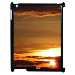 Summer Sunset Apple Ipad 2 Case (black) by picsaspassion
