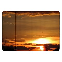 Summer Sunset Samsung Galaxy Tab 8 9  P7300 Flip Case by picsaspassion