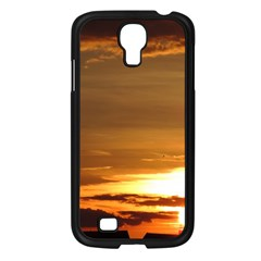 Summer Sunset Samsung Galaxy S4 I9500/ I9505 Case (black) by picsaspassion