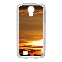 Summer Sunset Samsung Galaxy S4 I9500/ I9505 Case (white) by picsaspassion