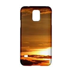 Summer Sunset Samsung Galaxy S5 Hardshell Case  by picsaspassion