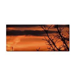 Tree Branches And Sunset Hand Towel by picsaspassion