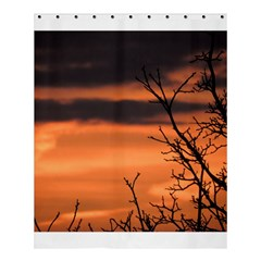 Tree Branches And Sunset Shower Curtain 60  X 72  (medium)  by picsaspassion