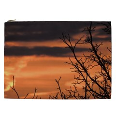 Tree Branches And Sunset Cosmetic Bag (xxl)  by picsaspassion