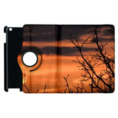 Tree Branches And Sunset Apple Ipad 2 Flip 360 Case by picsaspassion