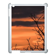 Tree Branches And Sunset Apple Ipad 3/4 Case (white) by picsaspassion