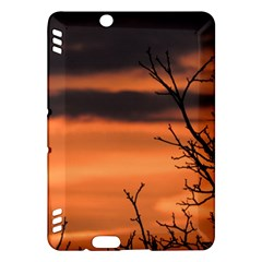 Tree Branches And Sunset Kindle Fire Hdx Hardshell Case by picsaspassion