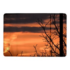Tree Branches And Sunset Samsung Galaxy Tab Pro 10 1  Flip Case by picsaspassion