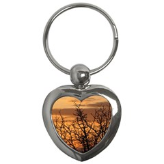 Colorful Sunset Key Chains (heart)  by picsaspassion