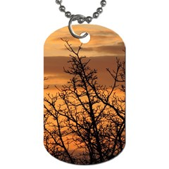 Colorful Sunset Dog Tag (two Sides) by picsaspassion