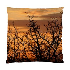 Colorful Sunset Standard Cushion Case (one Side) by picsaspassion