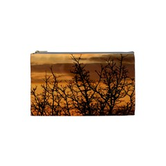 Colorful Sunset Cosmetic Bag (small)  by picsaspassion