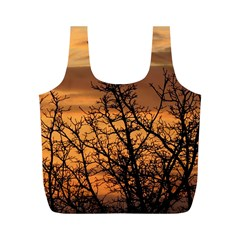 Colorful Sunset Full Print Recycle Bags (m)  by picsaspassion