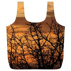 Colorful Sunset Full Print Recycle Bags (l)  by picsaspassion