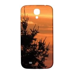 Christmas Tree And Sunset Samsung Galaxy S4 I9500/i9505  Hardshell Back Case by picsaspassion