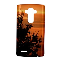 Christmas Tree And Sunset Lg G4 Hardshell Case by picsaspassion