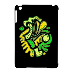 Yellow And Green Spot Apple Ipad Mini Hardshell Case (compatible With Smart Cover) by Valentinaart