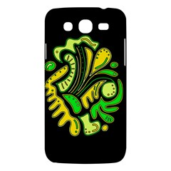 Yellow And Green Spot Samsung Galaxy Mega 5 8 I9152 Hardshell Case  by Valentinaart