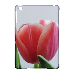 Red Tulips Apple Ipad Mini Hardshell Case (compatible With Smart Cover) by picsaspassion