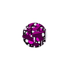 Something Purple 1  Mini Buttons
