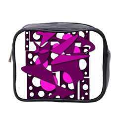 Something purple Mini Toiletries Bag 2-Side